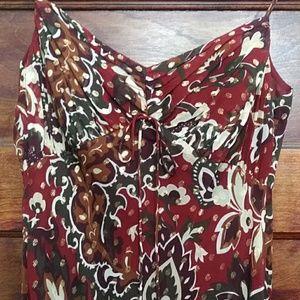 Ann Taylor silk summer dress